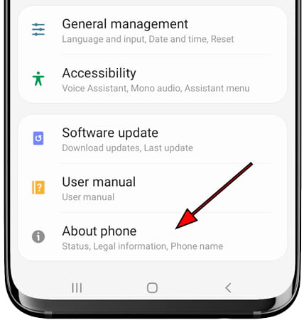 System icon Android