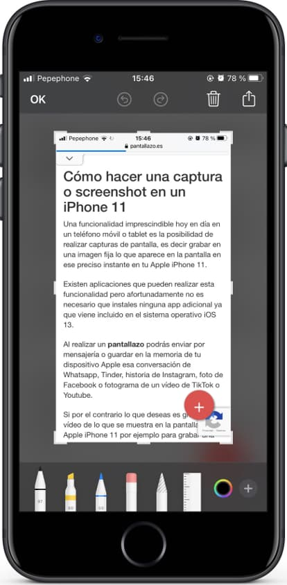 How To Make A Screenshot In Apple Iphone 3gs