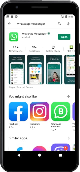 How To Install Whatsapp In An Vivo V19 Indonesia