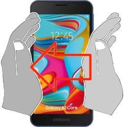 Screenshot in  Samsung Galaxy A2 Core