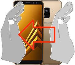 Screenshot in  Samsung Galaxy A8 (2018)