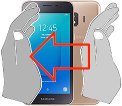 Screenshot in  Samsung Galaxy J2 Core