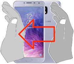 Screenshot in  Samsung Galaxy J4