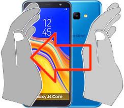 Screenshot in  Samsung Galaxy J4 Core