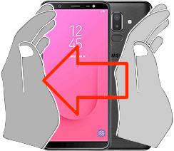 Screenshot in  Samsung Galaxy J8