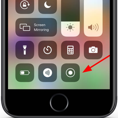 Screen Record on Iphone 12 Pro Max and Iphone 11